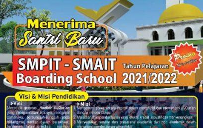 Pendaftaran SMPIT – SMAIT At-Tibyan TP 2021/2022 telah dibuka