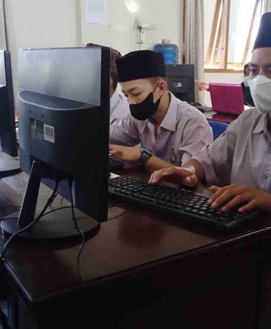 Asesmen Nasional Berbasis Komputer (ANBK) 2021 SMAIT At-Tibyan