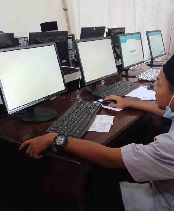 Asesmen Nasional Berbasis Komputer (ANBK) 2021 SMPIT At-Tibyan
